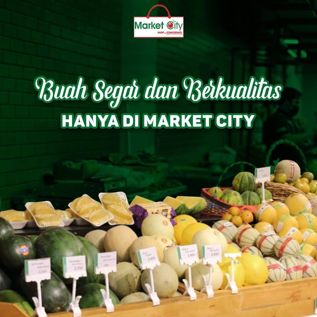 Buah Segar Dan Berkualitas Hanya Di Market City Market City